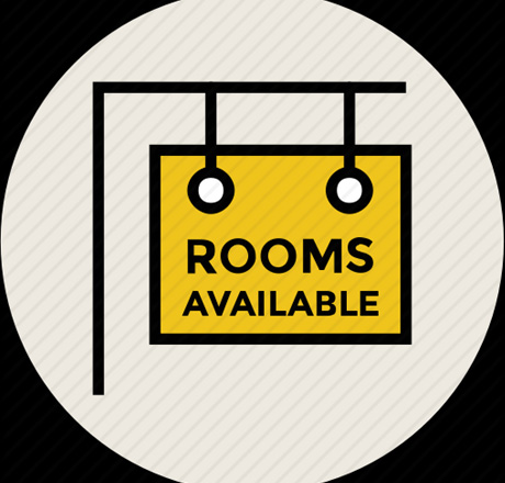 2-Rooms available