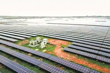Modi launches a 750 MW solar power plant in Rewa to stop imports from China