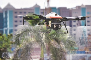 How DRONES Helped India in Fighting COVID-19 and locusts?