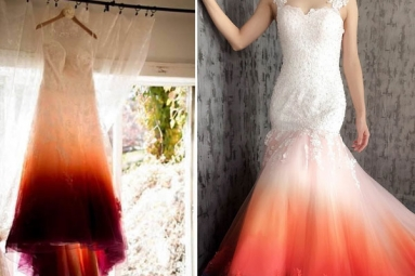 Bride Slammed for Dressing in Period-Stain Wedding Attire That Looked like a Stained Tampon